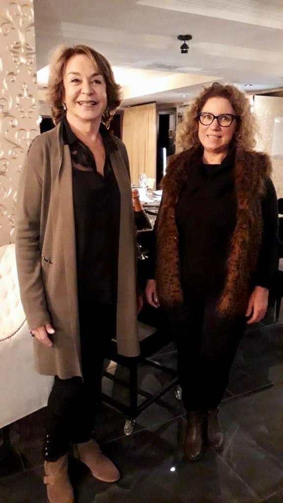 Elina Vignola y Almita Kauffmann