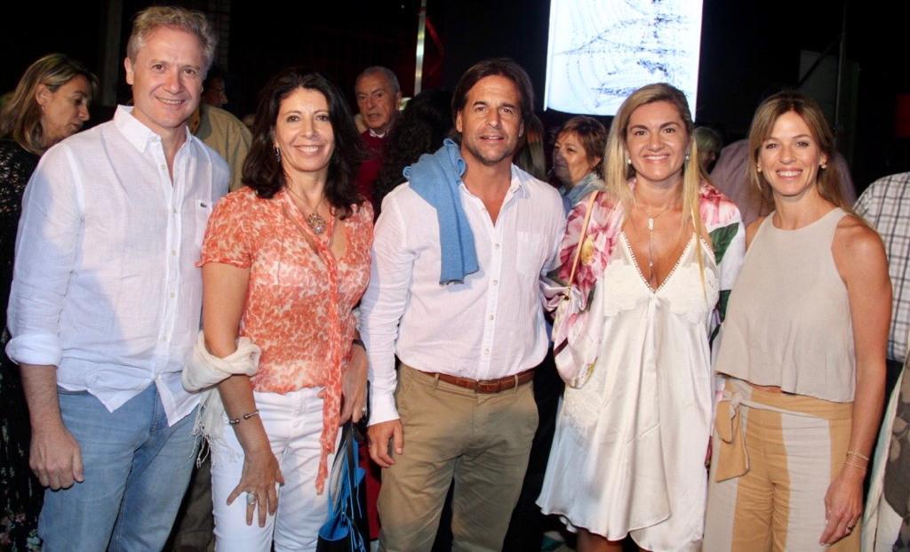 Jorge Srur, Marisol Nicoletti, Luis Alberto Lacalle, Patricia Rodriguez, Lorena Ponce de Leon