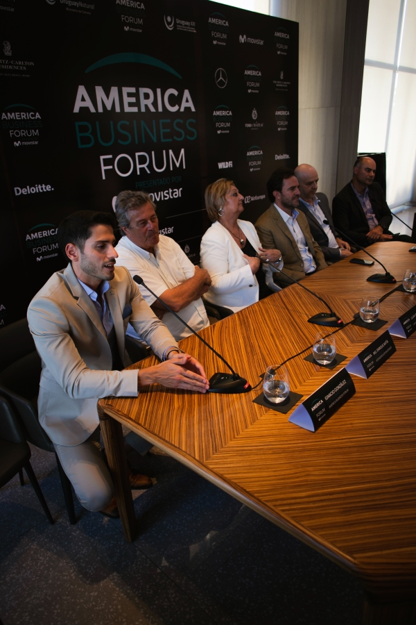 La presentación de America Business Forum.