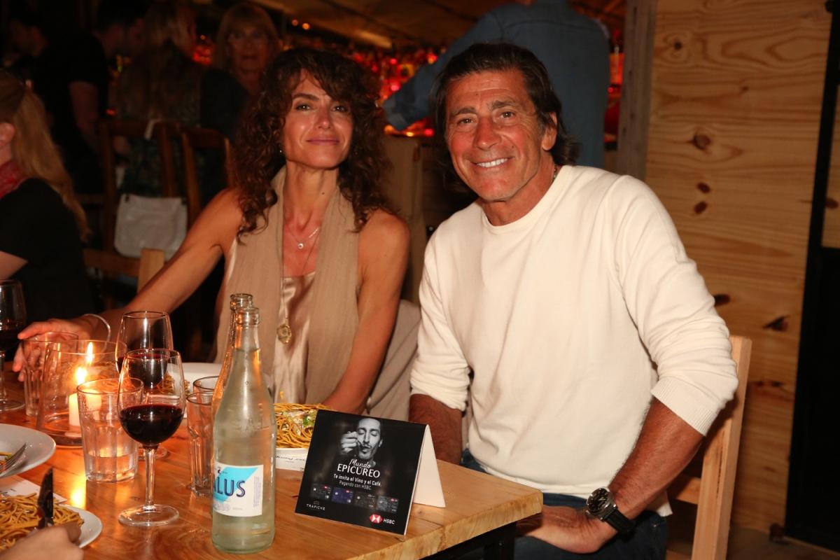 Florencia Raggi junto a Nicolás Repetto