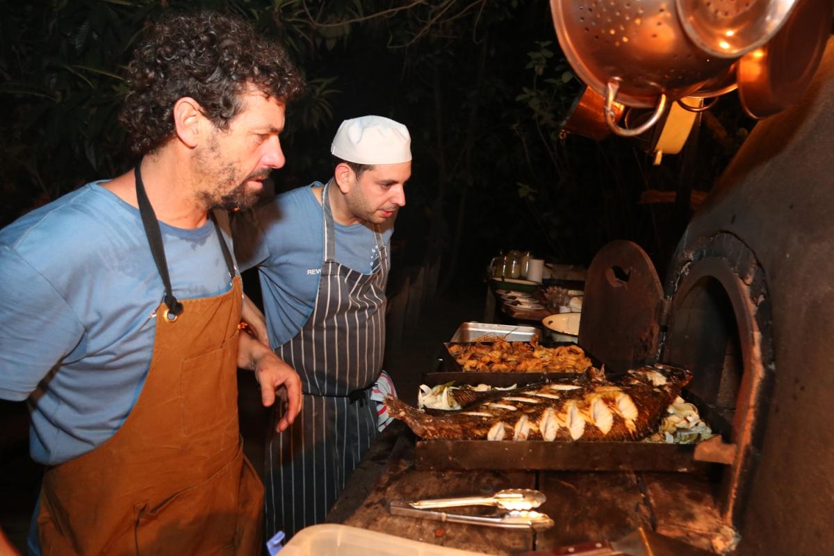 Los chefs Federico Desseno y Mariano Ramón