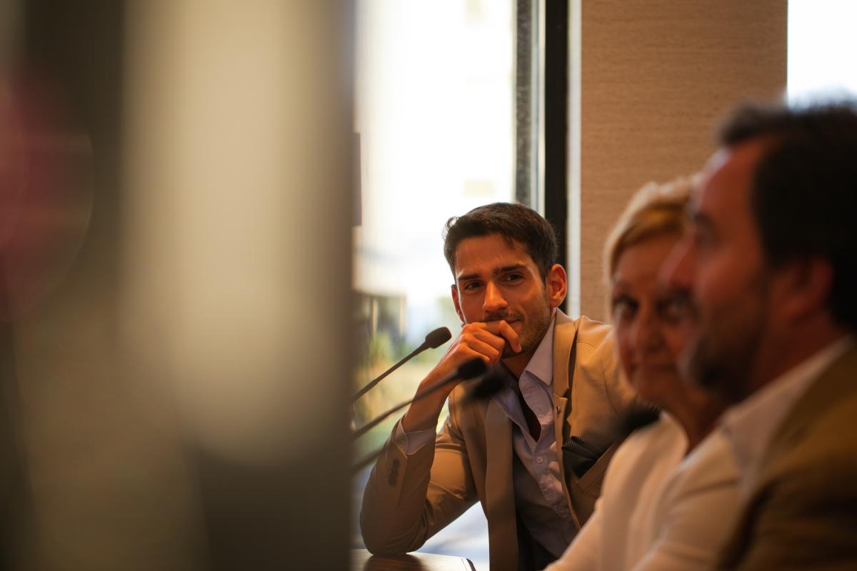 Ignacio Gonzalez -Presidente de ABF- en la presentación de America Business Forum.