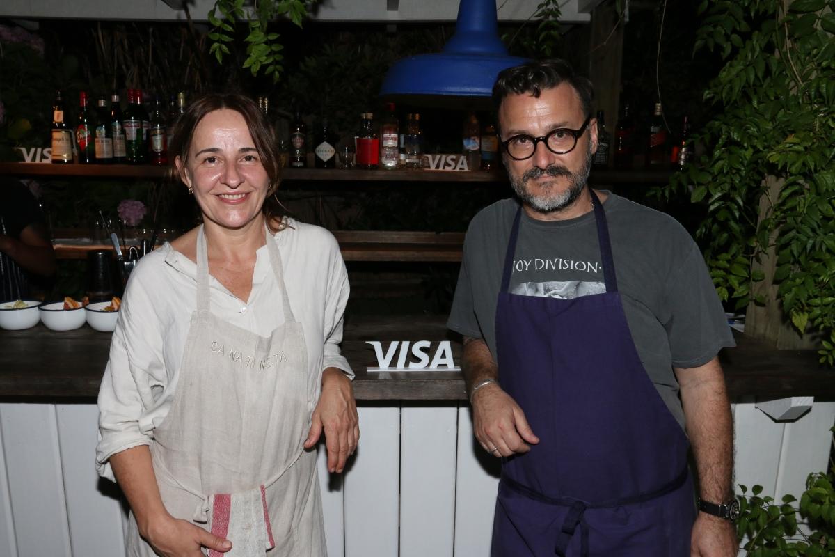Los chefs Fernando Trocca y Maria Solivellas