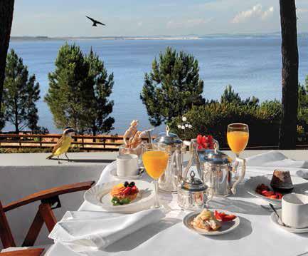 Una pausa gastronómica en el restaurante del Hotel del Lago